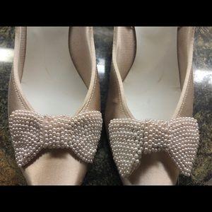 77eff37ed9 Dolce by Pierre Shoes | Dolce Pale Pink Kitten Heels | Poshmark
